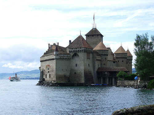 Castle, Montreux, Switzerland