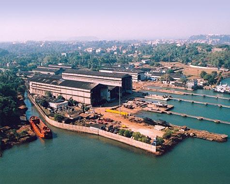 Goa Shipyard, Goa, India