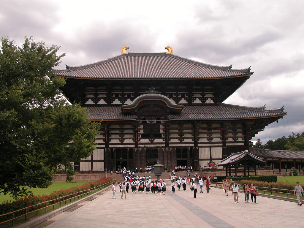 Largest Buddhist Temple in Japan
