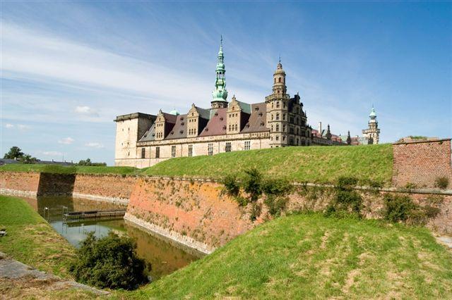 Kronborg Castle (Hamlet's Castle), Denmark