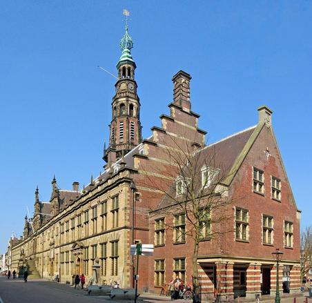 Leiden Town Hall, Leiden, Netherlands