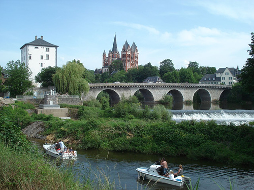 Limburg an der Lahn, a city with a medieval core is another tourist