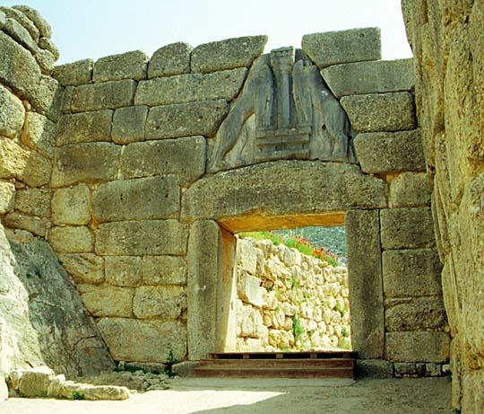 Mycenae Leon Gate, Olympia, Peloponnese
