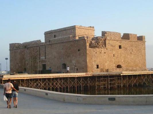 Paphos Castle, Paphos, Cyprus