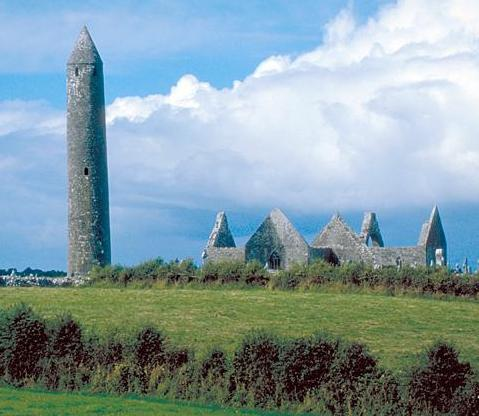 Round Tower of Kilmacduagh, Ireland