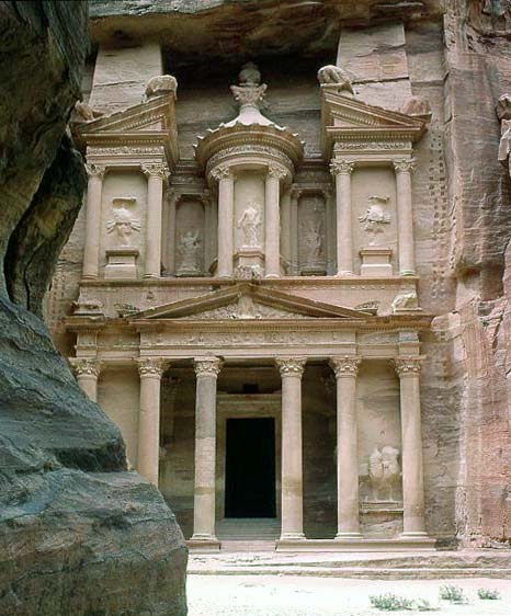 The Ancient Monastery, Petra, Jordan